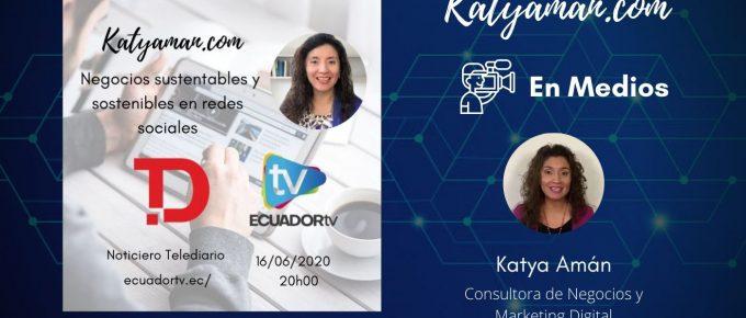 27-negocios-sustentables-y-sostenibles-en-redes-sociales-en-telediario-de-ecuador-tv