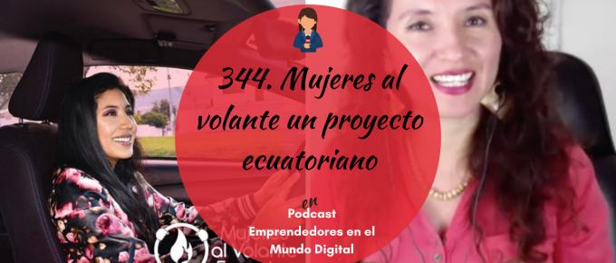 344. Mujeres al volante un proyecto ecuatoriano