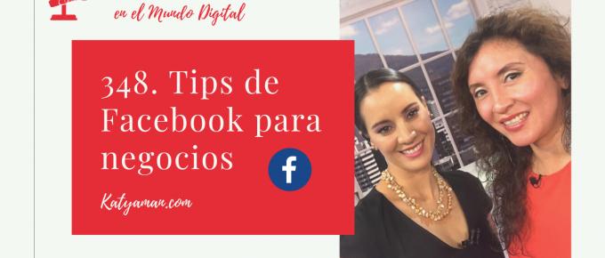 348. Tips de Facebook para negocios